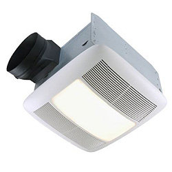 Quiet Bathroom Fan Light